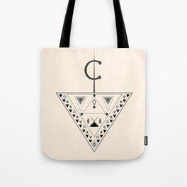 Moroccan and Algerian inspiration - Fubula and berber ornaments Tote Bag