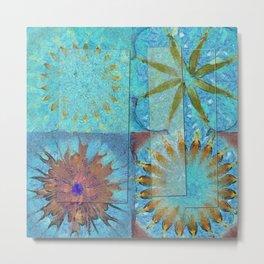Dowf Castle In The Air Flowers  ID:16165-051501-19441 Metal Print