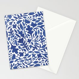 Nature Folk in Blue Stationery Cards