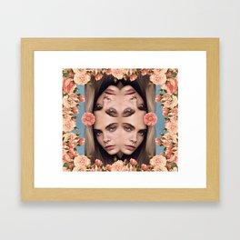 In The Eyes Framed Art Print
