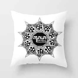 Maia Brasil Throw Pillow