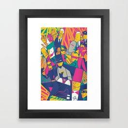 1966 Framed Art Print