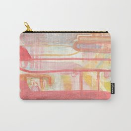 Layers And Chevrons Carry-All Pouch