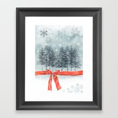 wintertrees Framed Art Print