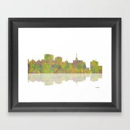Oakland, California Skyline Framed Art Print