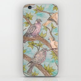 Various Pigeons iPhone Skin