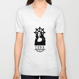 Can see your halo: Cora Unisex V-Neck