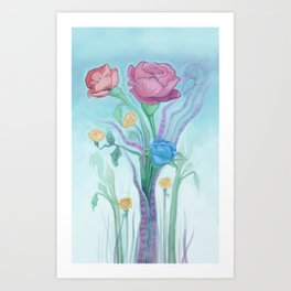 the Bouquet Art Print