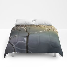Golden Light Comforters