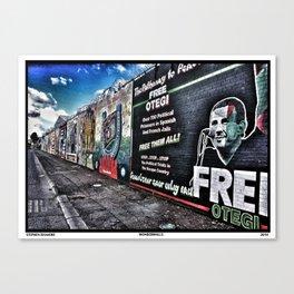 Wonderwalls Canvas Print