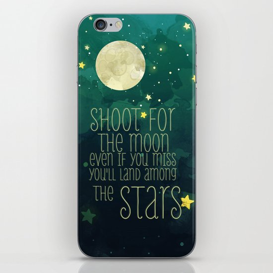 The moon and stars iPhone & iPod Skin