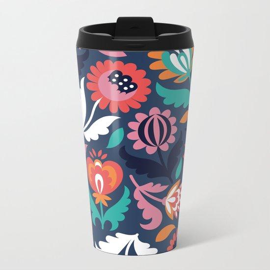 Spring song Metal Travel Mug