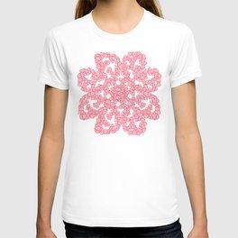 Rose Flower Doodle T-shirt