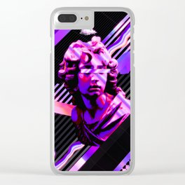 Vivid Statue Clear iPhone Case