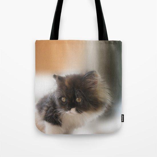 Nano Baby Kitten Tote Bag