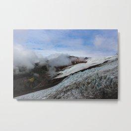 Heliotrope Ridge Trail, Mount Baker, WA Metal Print
