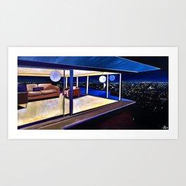 STAHL AT NIGHT Art Print