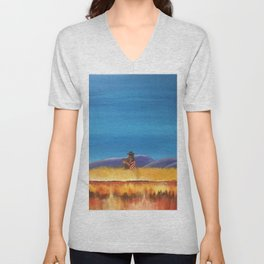 Gaucho at the Blood River Unisex V-Neck