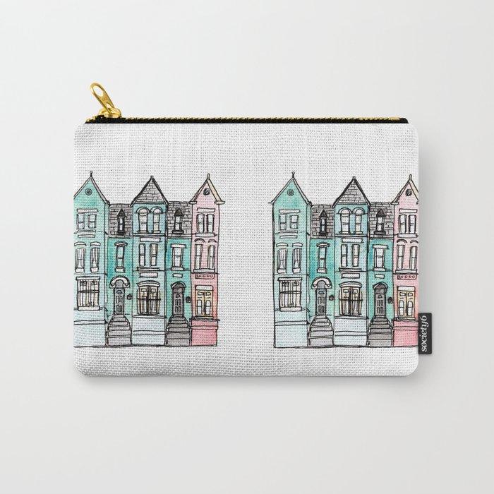 DC Row House No. 2 II U Street Carry-All Pouch
