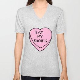 Eat My Shorts Unisex V-Neck