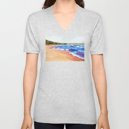 Colors of Water Unisex V-Neck
