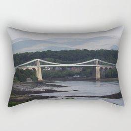 Menai Bridge Rectangular Pillow