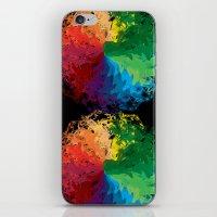 terry fan iPhone & iPod Skins featuring Fan by kartalpaf