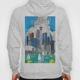 Toronto Skyline wide Hoody