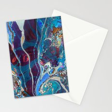 Midnight Marble Stationery Cards
