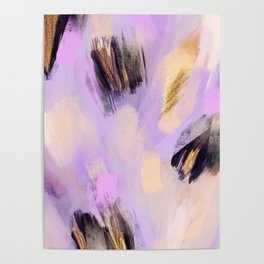 Purple Dream | Abstract Painting Poster