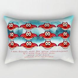 mushu emoji Rectangular Pillow