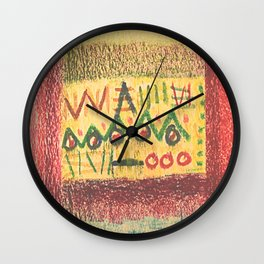 Cave Marks Wall Clock