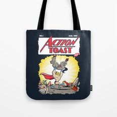 Action Toast Tote Bag