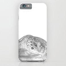 A Green Sea Turtle :: Grayscale Slim Case iPhone 6s