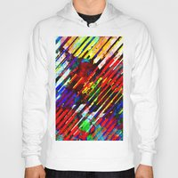 stripe Hoodies featuring stripe by barmalisiRTB