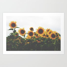 They Were All Yellow Art Print