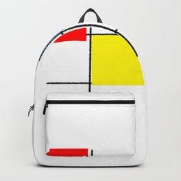 Colourful design squares Backpack