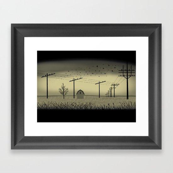 The Cornfield Framed Art Print