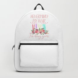 Hairstylist Funny Backpack