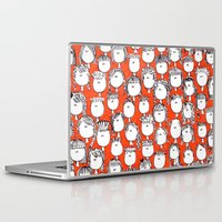 faces Laptop & iPad Skins featuring Faces by Pritika Mathur