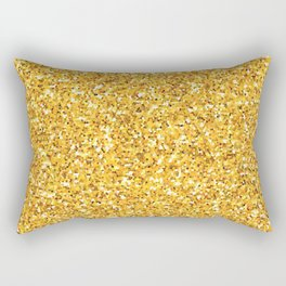 Yellow shine Rectangular Pillow