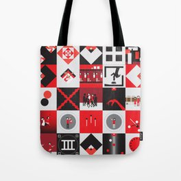 Candy Cane Kids Tote Bag