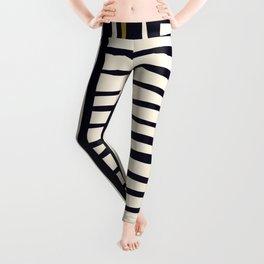 Zebra style animal print pattern Leggings