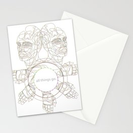 All Things Go. 3-D Stationery Cards