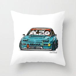 Crazy Car Art 0156 Throw Pillow
