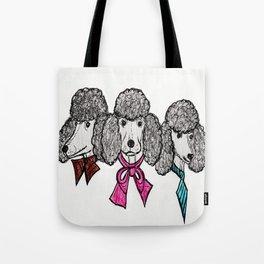 Le Poodles Tote Bag