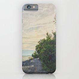 Road side beach iPhone Case