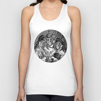 sister Tank Tops featuring SISTER  by DIVIDUS DESIGN STUDIO