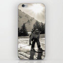 ski iPhone Skin