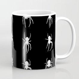 white spiders Coffee Mug